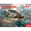 1:32 Gloster Gladiator Mk.I,WWII British Fighter