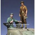 1/35 US Tank Commander Summer Set