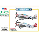 1:48 P-47D Thunderbolt Fighter