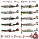 BF-109F in Foreign Service – DECALS 1:48