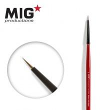 MIG Brush Round 10/0