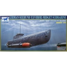 German Seehund XXVII B/B5 Midget Submari (2 options in 1) 1:35