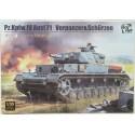 1:35 Panzer IV Ausf. F1 mit Zusatzpanzerung