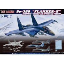 1:48 Su-35S Flanker E Multirole Fighter Air to Surface Version