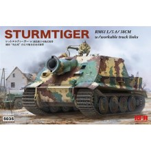 1:35 STURMTIGER W/ WORKABLE TRACK LINKS