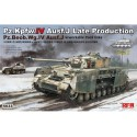 1:35 PZ.KPFW.IV AUSF.J LATE PRODUCTION /PZ.BEOB.WG.IV AUSF.J 2 IN 1
