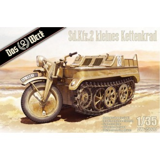 1:35 TKS Tankette with 20mm Gun (includes metal barrel and 2 figures)
