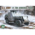 1:35 U.S. Army 1/4 ton armored truck in 1:35