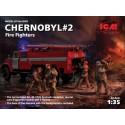 PRE-ORDER 1:35 Chernoby 2. AC-40-137A firetruck con Figuras