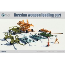 PRE-ORDER Russian Weapon Loading Cart 1:48