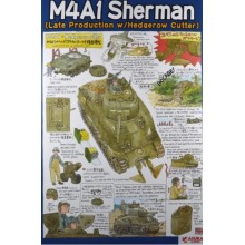 1:35 Us M4A1 Sherman Hedgerow