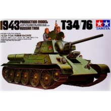 1:35 Russian Tank T34/76 1943 Production Model