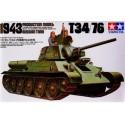 1:35 Russian Tank T34/76 1943 Production Model