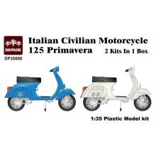 1:35 Italian Civilian Motorcycle 125 Primavera