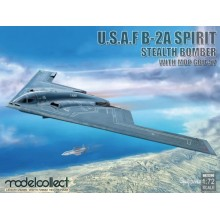 1:72 USAF B2A Spirit Stealth Bomber with Mop GBU 57