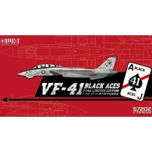 US Navy F-14A VF-41 Black Aces 1:72