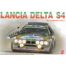 1:24 LANCIA DELTA S4 1986 SANREMO RALLY