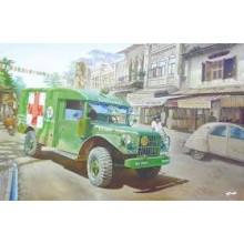 1:35 Dodge M-37 3/4 ton 4x4 cargo truck