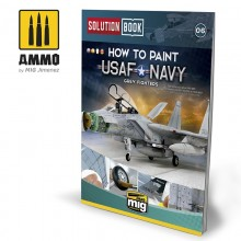 SOLUTION BOOK. Como pintar aviones grises USAF Navy