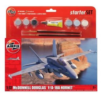 Large Starter Set - McDonnell Douglas F-18A Hornet 1:72