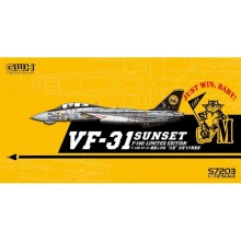 PRE-ORDER US Navy F-14D VF-31 'Sunset' Farewell Flight /w special Decal 1:72