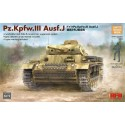 1:35 Pz. Kpfw. III Ausf. J w/workable track links