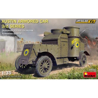 1:35 AUSTIN ARMORED 3rd SERIES: INTERIOR KIT