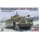 1:35 Pz. Kpfw. IV Ausf. H Sd.Kfz.161 /1 Early Production