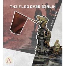 THE FLAG OVER BERLIN 3 figures + Scenery 1:35