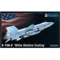 1/32 X-15A-2 White Ablative Coating