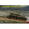 1:35 T-34/85 Model 1944 No 174 Factory
