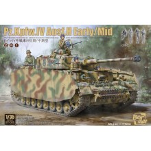 1/35 Pz.Kpfw.IV Ausf.H Early/Mid 2 in 1