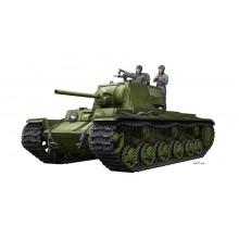 KV-1 1942 Simplified Turret Tank w/Tank Crew 1:35