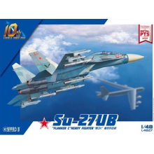 1:48 Su-27UB Flanker C Heavy Fighter