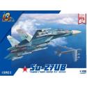 1:48 Su-27UB Flanker C Heavy Fighter