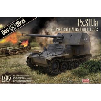 1:35 TKS Tankette with 20mm Gun (includes metal barrel and 2 figures)