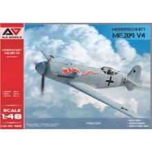 Me.209 V-04 high-speed experimental prototype 1:48