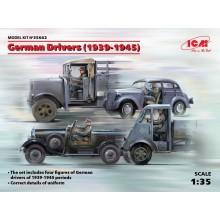 1:35 German Drivers 1939-1945 4 figures