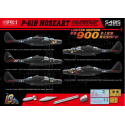 1:48 P-61B NOSEART /w Full Underwing Store & Special Metal weight