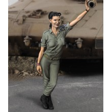 IDF WOMAN SOLDIER 1:35