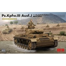 PRE-ORDER 1:35 Pz. Kpfw. III Ausf. J with full interior