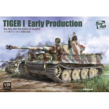 1/35 TIGER I Early Production, Battle of Kursk