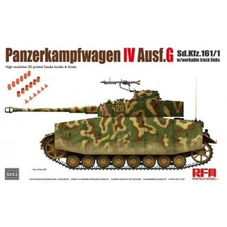 1:35 M4A3 76W HVSS Sherman with full interior & workable track links