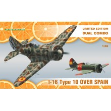 I-16 Type 10 over Spain DUAL COMBO 1:48