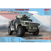 PRE-ORDER 1:35 KAMAZ K4386 TYPHOON-VDV WITH 30 MM 2A42 CANNON SYSTEM