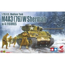 1:35 U.S Medium Tank M4A3 Sherman 75mm Late Cougar