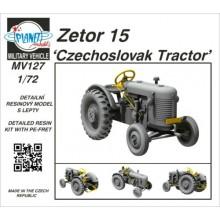 PRE-ORDER 1:72 Zetor 15 Czechoslovak Tractor