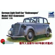 "German Light Staff Car ""Stabswagen"" 1937"
