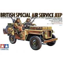 British SAS Jeep