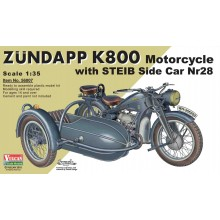 Zündapp K800 Motorcycle with STEIB Side Car Nr28